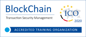 ICO-Akkreditierungslogo Blockchain