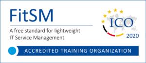 ICO-Akkreditierungslogo FitSM