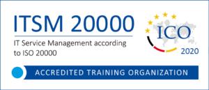 ICO-Akkreditierungslogo ISO 20000