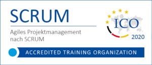 Bild: ICO-Akkreditierung für SCRUM