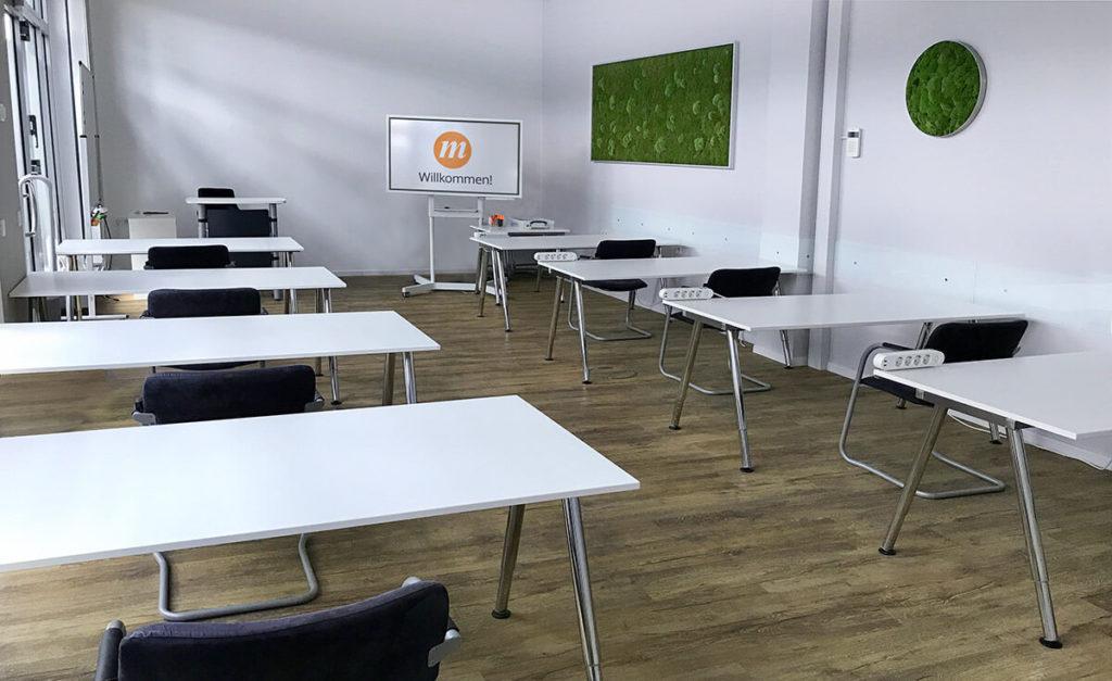 Bild: Schulungsraum mITSM