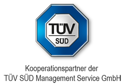 Bild Logo TÜV SÜD Management Services