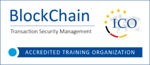 Bild: ICO-Akkreditierungslogo Blockchain